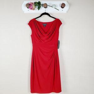 Lauren Ralph Lauren Dress Cowl Neck Jersey Dress